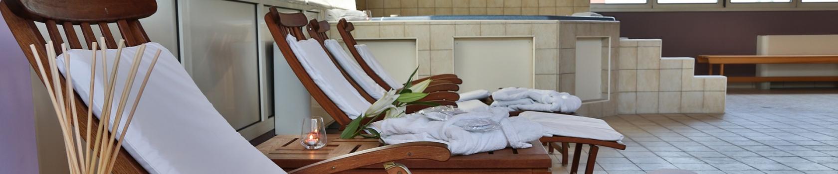 Rilassati nella wellness area del BW Classic Hotel