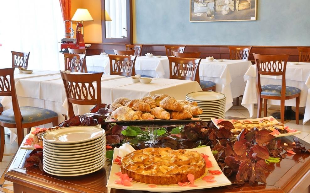 Ricco e gustoso buffet colazione al BW Classic Hotel
