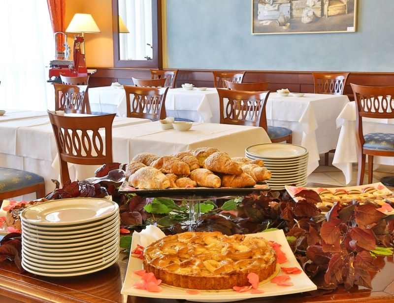 Rich and tasty breakfast buffet at the BW Classic Hotel
