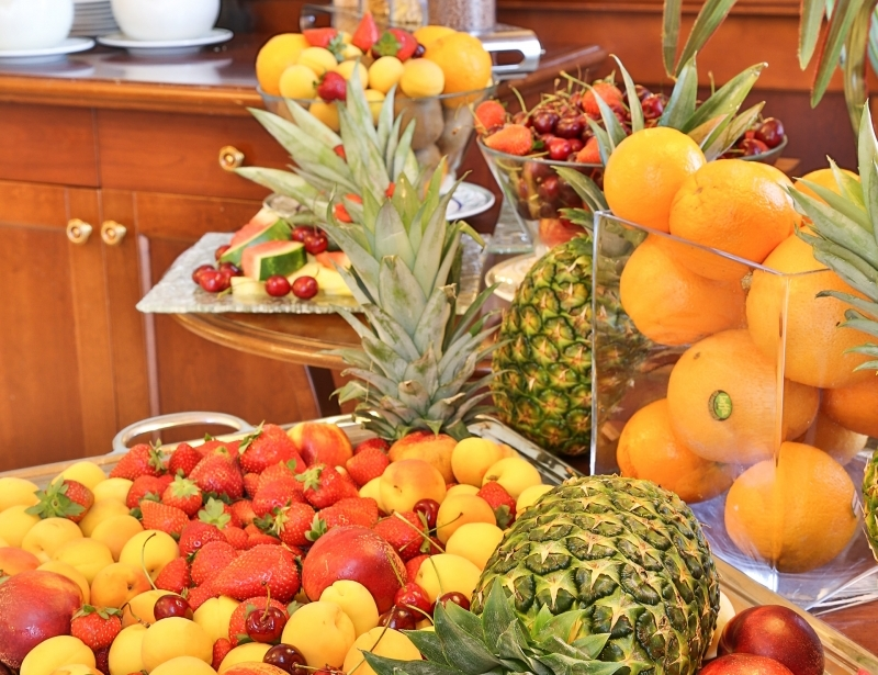 Try the breakfast buffet of the BW Classic Hotel