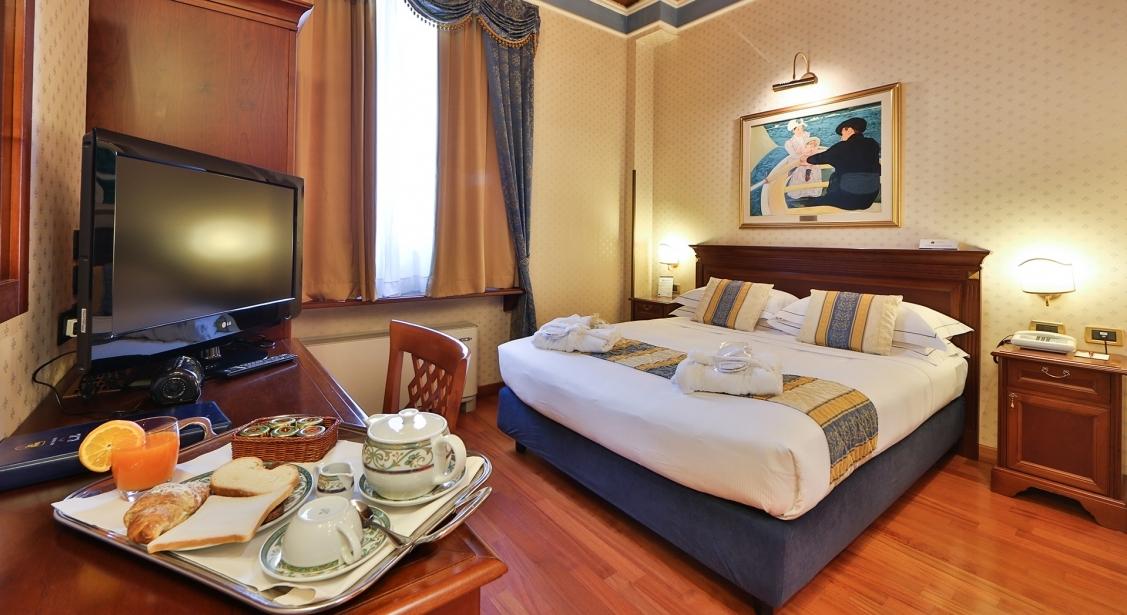 Comfort e servizi nelle camere di BW Classic Hotel
