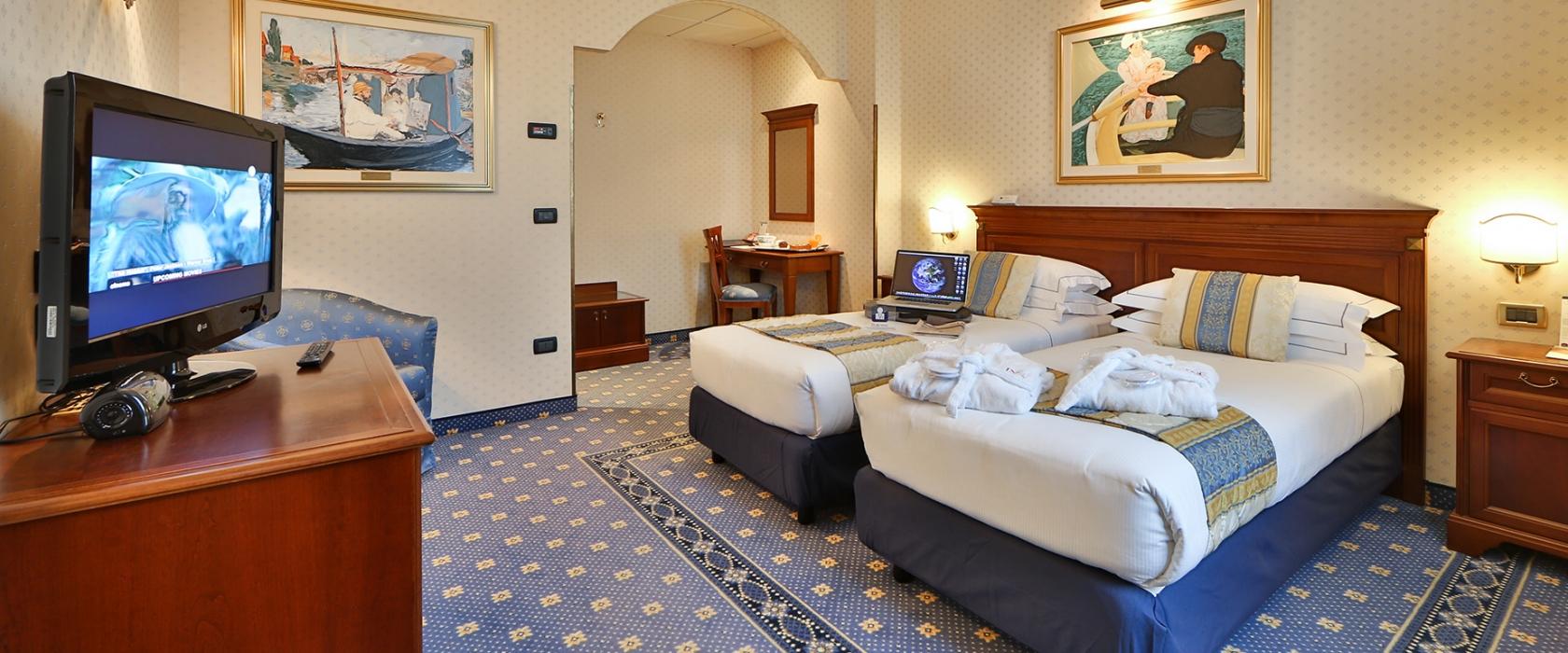 Il BW Classic Hotel propone ampie e accoglienti camere