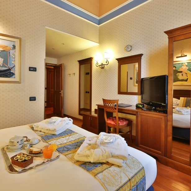 Discover the comfort of our rooms in Reggio Emilia