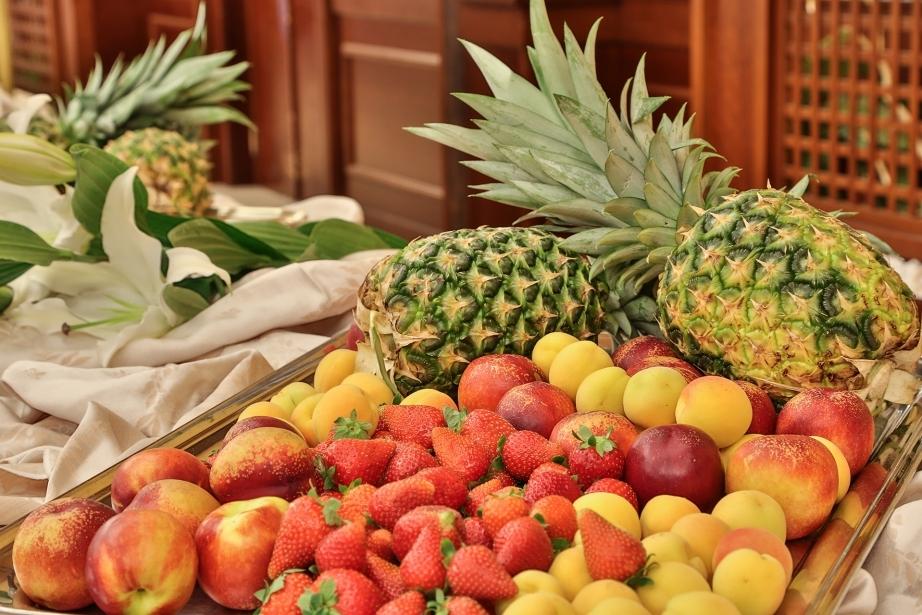 Frutta fresca nella colazione del Best Western Classic Hotel