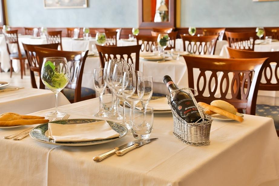 Scopri le specialità del ristorante dell'hotel