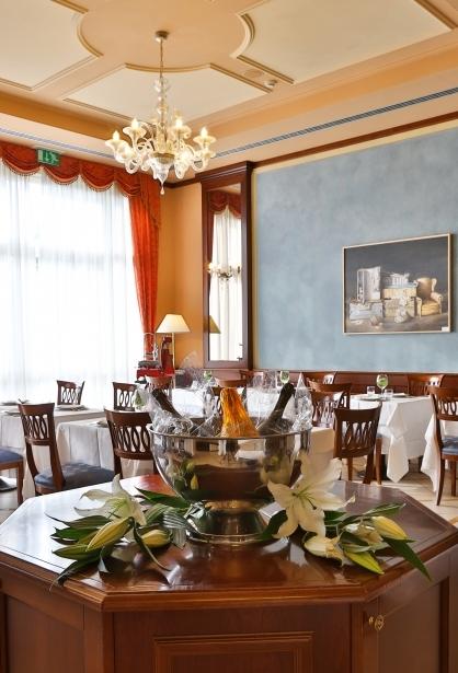 Piatti tipici al ristorante del Bw Classic Hotel