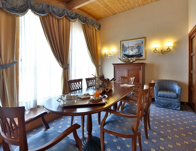 Suite con salottino al BW Classic Hotel