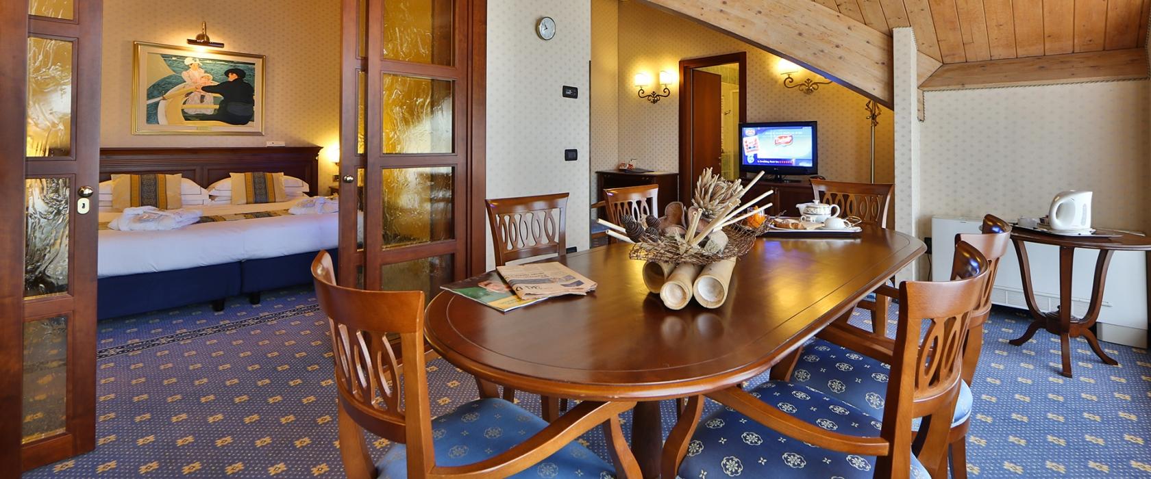 La suite del BW Classic Hotel ti aspetta a Reggio Emilia